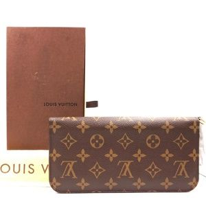 Louis Vuitton Bags - Monogram and Orange Interior Grenade Wallet